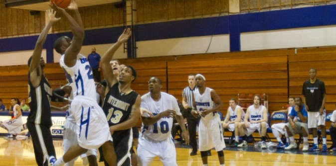 Men�s Basketball shocks Montreat in AAC First Round