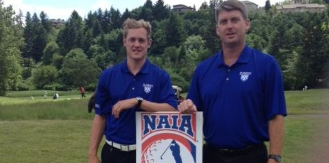 Latham shoots 68 for top 10 finish; named to all-tourney team