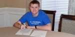 Men's Swimming signs local Fayetteville recruit