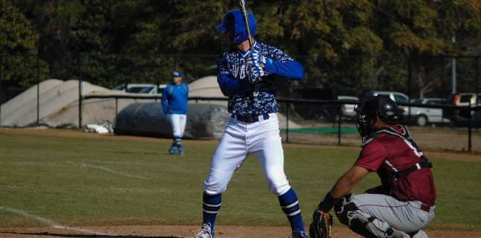 Baseball gets back on track with high-scoring win