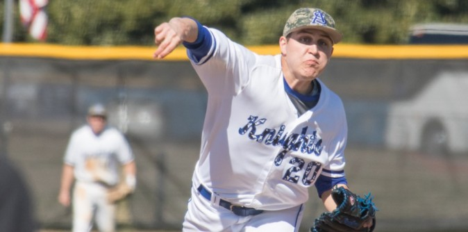 Baseball hangs on to complete series sweep over Bluefield