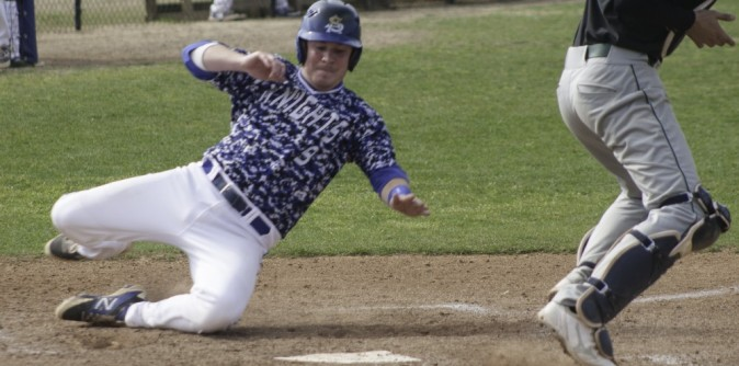 Baseball thunders way past Coker with 17 runs