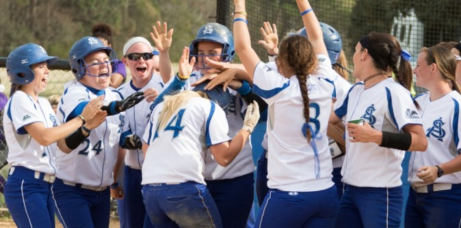 SAU Softball marches into second round with 7-1 win