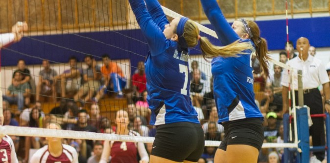SAU Volleyball loses 5 set battle with Montreat