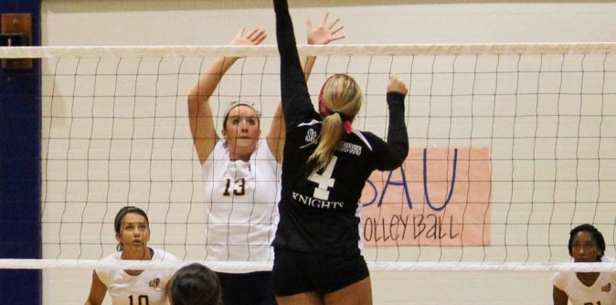 Volleyball goes 1-3 at Converse Tournament