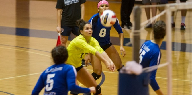 Lady Knights Volleyball falls in season opener