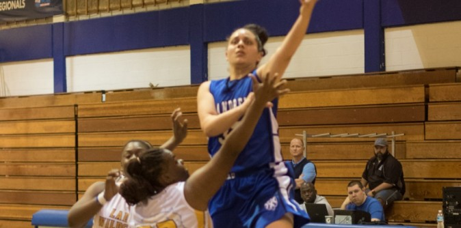 Women�s Basketball sweeps Columbia to clinch winning record