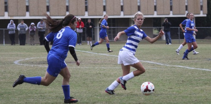 Lady Knights Shut Out Bluefield For Conference Win