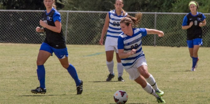 Women�s Soccer gains tie with Point