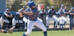 Knights split DH with Point on Senior Day