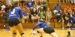 SAU Volleyball upsets Columbia