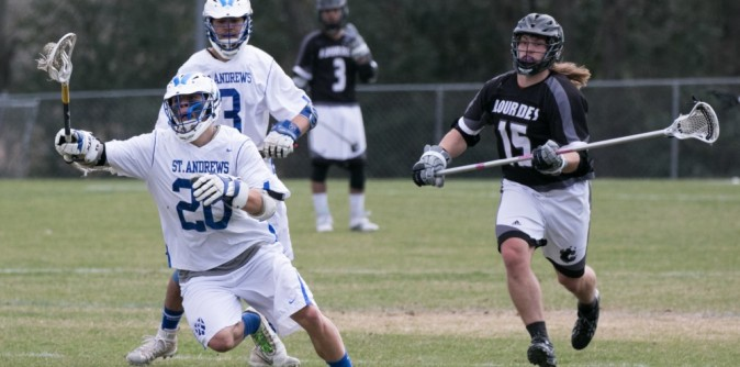 #10 Men�s Lacrosse defeats rival Reinhardt on Senior Day