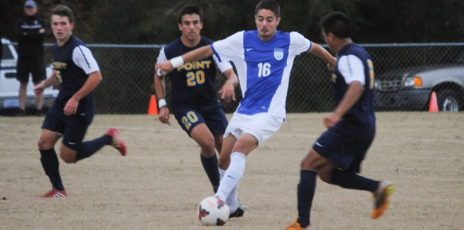 Men's Soccer's Ander named NPSL Player of the Week