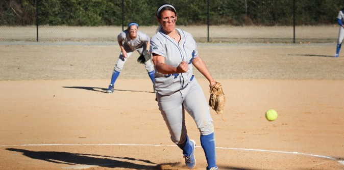 Softball Splits DH with Talladega