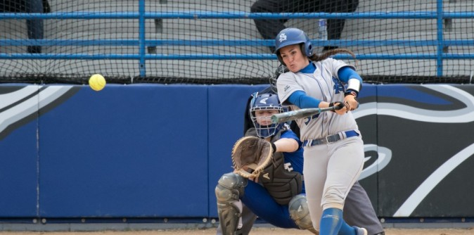 Softball sweeps Johnson C. Smith in Season Finale