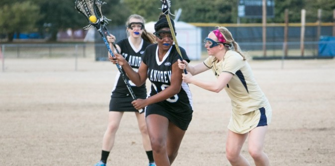 Reinhardt pushes their way past Lady Knights