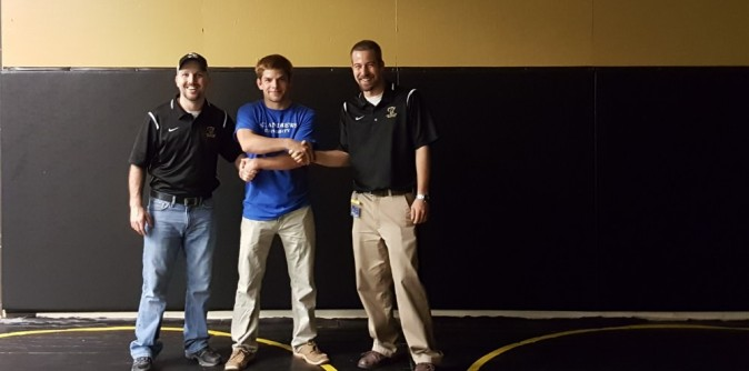 Wrestling signs Virginia State Finalist