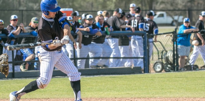 Baseball Edges #5 TWU for Quality Win over a Ranked Foe