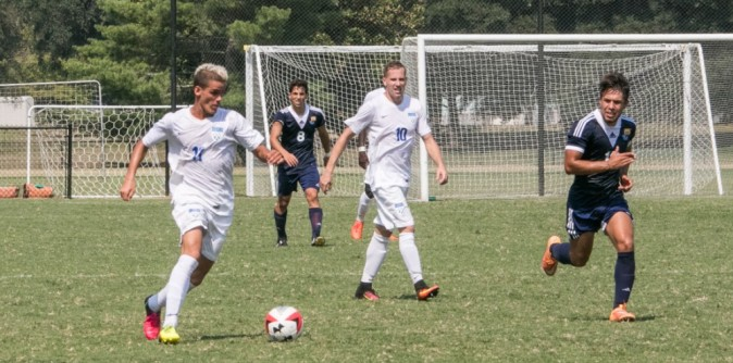 Men's Soccer upends Bob Jones 3-1