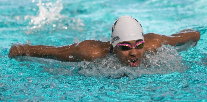 All-American Krastev leads Swimming at Nationals