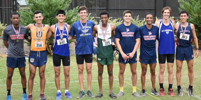 Men's XC finishes 2nd overall at Monarch Classic