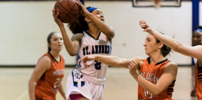 Lady Knights' team effort leads to win