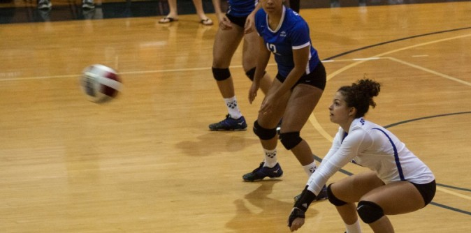 Two Lady Knights make all-region volleyball team