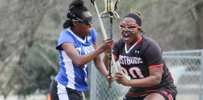 Lady Knights Lacrosse Pull Off First Win of Season