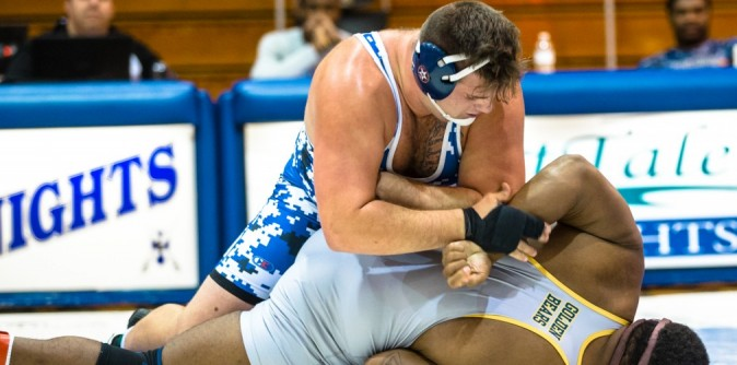 Wrestling Crushes Allen, falls to Greensboro on Exciting Senior Night