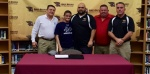 Wrestling signs Adame from Ashley HS