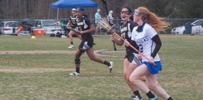 Lady Knights Lacrosse cruises past Montreat