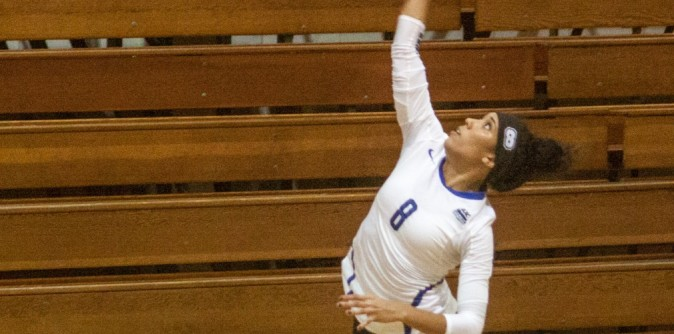 Lady Knights pull out another five-set win