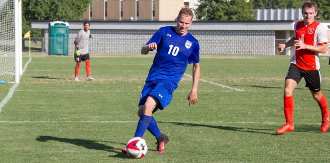 Men's Soccer Drops Match to Milligan