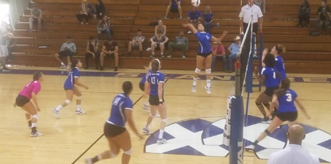 SAU Volleyball rolls past Truett