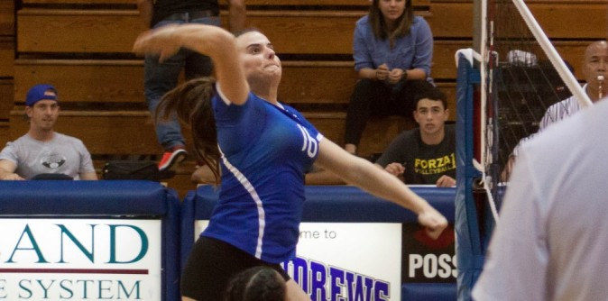 SAU Volleyball Falls in Five-Set Thriller