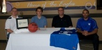 First Assembly's Nate Cantadore signs with St. Andrews Basketball