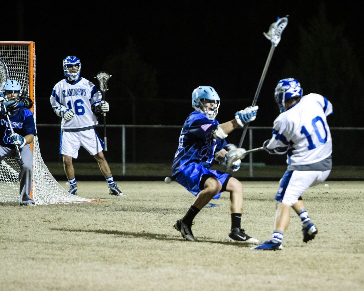 25Men's Lacrosse ousts the Citadel 9-8 in home opener | St. Andrews  University Athletics